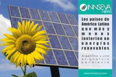 Los países que mas y menos invierten en energías renovables. Consumo Responsable