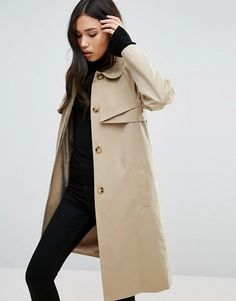On SALE at 47% OFF! Cooper & Stallbrand Folded Trench Coat by Cooper & Stollbrand. Coat by Cooper & Stallbrand, Woven cotton canvas, Fully lined, Spread collar, Button placket, Functional pockets, Sto...