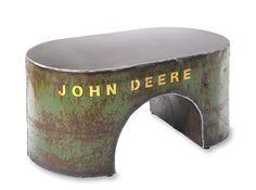 Reclaimed Green Coffee Table by ShopGatski on Etsy,