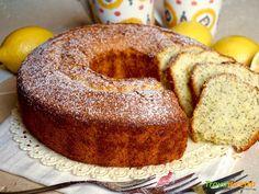 Chiffon Cake al Limone e Semi di Papavero  #ricette #food #recipes