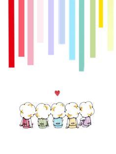 隠れ嵐ファンにオススメ! iPhone用壁紙 Anime Chibi, Cute Art, Fan Art, Wallpaper, Illustration, Funny, Japanese Quotes, Wallpapers, Funny Parenting
