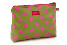Large Lou Harvey Bag, Dot Green on OneKingsLane.com    JACARANDA LIVING Purses And Bags, Coin Purse, Dots, Wallet, My Style, Green, Christmas, Products, Stitches