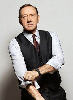 #KevinSpacey in a #suit, #tie and #shirt by Giorgio #Armani #ArtofStyle #MensFashion #MensStyle