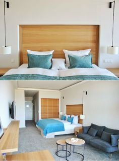 Lifestyle meets warm atmosphere - SeeHuus impresses not only with its high-quality equipment, but also with its fantastic location directly on the sea. Design Hotel, Ocean Colors, Colours, Modern, Baltic Sea, Net, Warm, Furniture, Home Decor