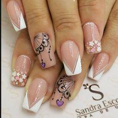 Erika, Mario, Nail Art, Nails, Simple, Beauty, Work Nails, Make Up, Decorations