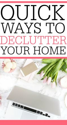 Don't spend all your time getting rid of clutter. Check out these awesome tips for quick ways to declutter. Your home will look great in no time at all.