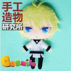 Anime Seraph of the End Powers Italy Cute DIY Material toy Doll keychain $17.10
