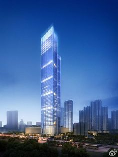 WUHAN | Yuexiu Fortune Center | 330m | 1083ft | 65 fl | Prep - SkyscraperCity
