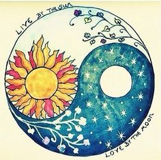 Live by the sun, love by the moon xx