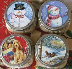 Origineel idee om oude kerstkaarten opnieuw te gebruiken.