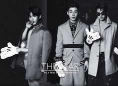 Ryeo Wook, Henry, Sungmin - The Star Magazine April Issue '14