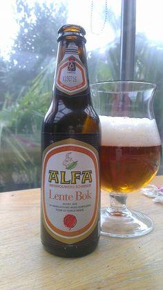 Alfa Lentebok   - Alfa Bierbrouwerij, Schinnen (Ned.) - Beoordeling GGOB 6,5. Eigen beoordeling:6,5