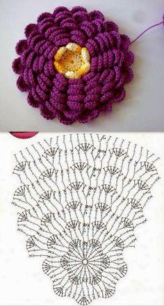 Artesanato com amor...by Lu Guimarães: Almofadas em crochê