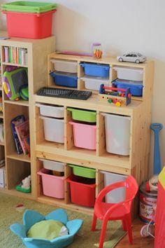 trofast storage desk google search