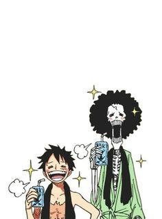 Brooke Luffy – One Piece One Piece Anime, One Piece Comic, Nami One Piece, One Piece Fanart, Anime One, Manga Anime, Comic Manga, Anime Couples Manga, Cute Anime Couples