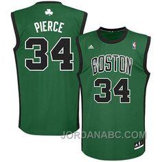 finest selection ad1b5 35ddf boston celtics paul pierce 34 green swingman jersey sale