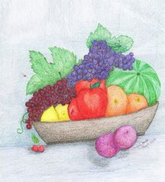 Lopsided fruit basket