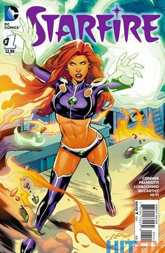 Starfire #1 variant cover by Emanuela Lupacchino *