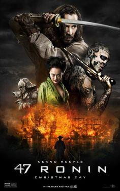 """La leyenda del samurái"" (2013). Algo irregular, pero todo se le perdona a Keanu <3"