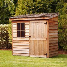 Walmart: Cedar Shed 6 x 3 ft. Banff Wood Storage Shed