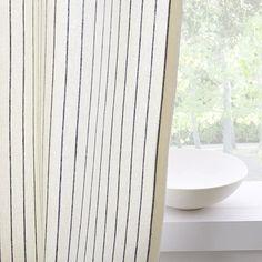 Tassel Stripe Curtains (Set of 2) #westelm