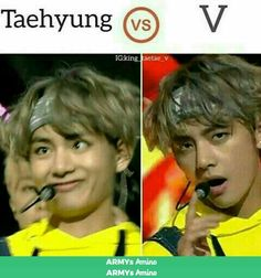 V is hot and all but I'd rather spend a day with Taehyung because he is goofy and lovable