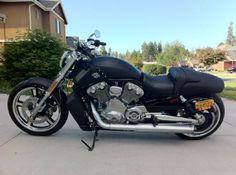 2012 Harley-Davidson VRSCF MUSCLE V ROD Cruiser , Matte Black, 5,323 miles for sale in Bend, OR