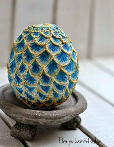 """I love you...decorated cookies!!: Huevos estilo """"Fabergé"""" y Felices Pascuas"""