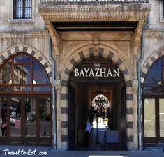 For lunch after the Zeugma Mosaic Museum we decided to go to downtown Gaziantep. Bayazhan is a converted caravansarai, built in by tobacco Turkey Travel, Most Beautiful Cities, The Province, Cool Bars, Traditional House, Travel Pictures, Istanbul, Ale, Restaurant