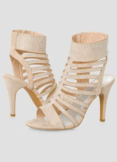 Stone Stud Dress Sandal - Wide Width