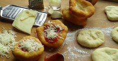 Dobrou chuť: Langoše Bagel, Doughnut, Camembert Cheese, Dairy, Bread, Desserts, Pizza, Food, Tailgate Desserts