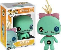 Disney Lilo and Stitch POP! New shots of the adorable Disney Lilo and Stitch Funko POP vinyl figurines have finally surfaced featuring 3 new pop vinyls to the Funko POP! The three new figures consist of Stitch Lilo and Scrump Disney Pop, Disney Pixar, Film Disney, Disney Style, Disney Nerd, Disney Bound, Disney Stitch, Lilo Stitch, Pop Figurine
