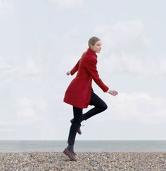 Red Franklin coat A/W 2012 Ready-to-wear collection
