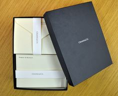 cranes stationery packaging