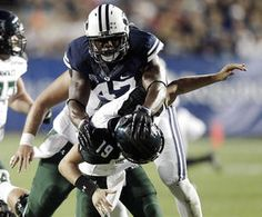 """Right away, Leonard Myles-Mills saw potential in the imposing, soft-spoken stranger standing before him, and he decided to do something about it.    The way Myles-Mills likes to tell it, one day a few years ago, Ezekiel """"Ziggy"""" Ansah walked into his office on BYU's campus, where Myles-Mills serves as an assistant track coach. Myles-Mills' first impression of Ansah?"""