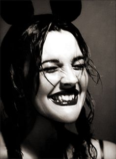 Drew Barrymore by Mert and Marcus.