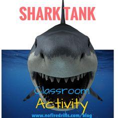 SHARK TANK FOR YOUR CLASSROOM