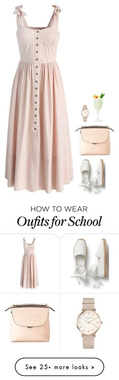 """""""#6903"""" by azaliyan on Polyvore featuring Chicwish, Fendi and ROSEFIELD"""