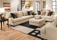 Lacks | Trinidad 2-Pc Living Room Set