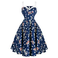 Hell Bunny Oceana 1950s Dress