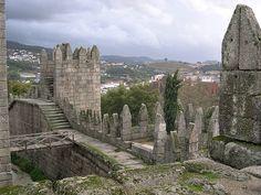 Guimaraes Castle (Guimaraes Portugal)