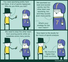 How sports interviews sound to me.