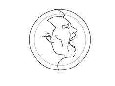 "Seminoles logo process - Fraser Davidson // ""How to make a logo almost everyone will hate"" Logo Process, Design Process, Print Design, Logo Design, Logo Branding, Logos, Face Icon, How To Make Logo, Badge Design"