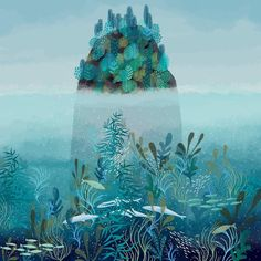 Digital illustration by Jane Newland #digitalart