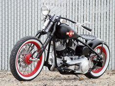 Huntington Beach Cycles Custom Bobber - Dept.85 Bobber | Hot Bike
