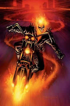 APOCALYPSE SOON PART 2 Temporarily setting aside his quest for the remaining avatars of Lucifer, Johnny Blaze has forced the Ghost Rider into a confrontation with The Hulk in hopes of saving the innocent. But who's going to save Ghost Rider? Comic Book Characters, Marvel Characters, Comic Character, Comic Books Art, Comic Art, Book Art, Ghost Rider Johnny Blaze, Ghost Rider Marvel, Marvel Comics Art