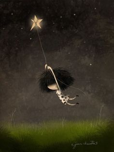 Puro Pelo by lovingjulia Image Citation, Sun And Stars, Cute Illustration, Cartoon Art, Cute Drawings, Good Night, Sweet Dreams, The Dreamers, Fantasy Art