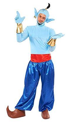 Disney Aladdin genie costume Men's corresponding height 165-175cm 95805