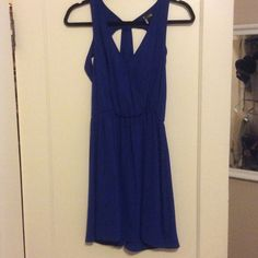 Cobalt dress! Super cute gently used urban outfitters dress. Worn 4 times and just back from dry cleaners!! Personal I think it ran a little big Urban Outfitters Dresses Backless
