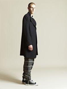 Yohji Yamamoto jacket, Damir Doma pants